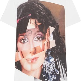 House of Holland - Cher printed cotton-jersey T-shirt