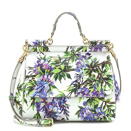 DOLCE&GABBANA - Mini Miss Sicily printed leather tote