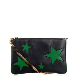 STELLA McCARTNEY - Cavendish faux-leather clutch