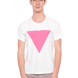 American Apparel - Screen Printed Power Washed Tee-AA is Gay