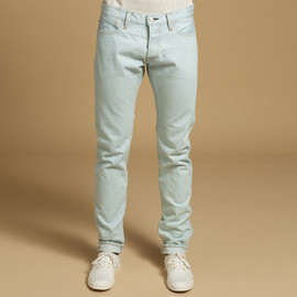 KITSUNE - SLIM CUT JEANS LIGHT BLUE