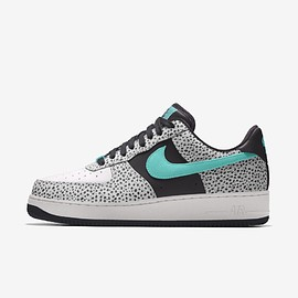 NIKE - Air Force 1 Low Unlocked - Lt Safari/White/Black/Aurora Green