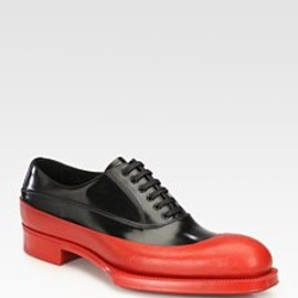 PRADA - Rubber Dipped Lace-Up