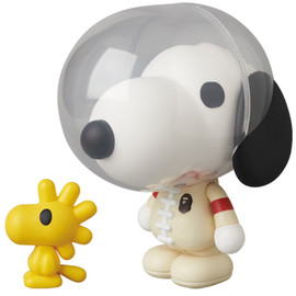 MEDICOM TOY - VCD SNOOPY & WOODSTOCK