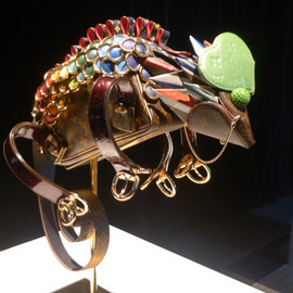 Billie Achilleos, (ビリー・アキレオス) - The Chameleon (Louis Vuitton Animal Sculptures)