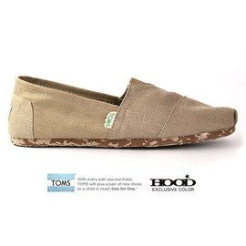 TOMS - EARTHWISE CLASSICS (SAND)