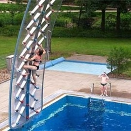 16. Poolside Rock Climbing Wall - Retail Price: $4,554.00+