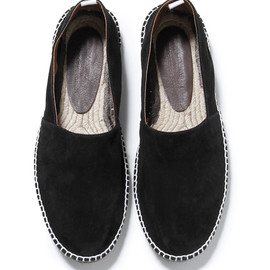 nonnative - DRIFTER SLIP ON SHOE - COW LEATHER for grocery store.