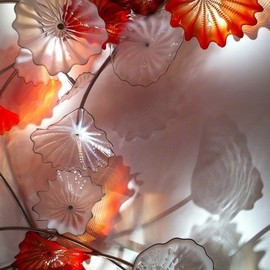 Dale Chihuly - Glass Flowers, sculpture