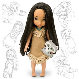 Disney - Disney Animators' Collection Pocahontas Doll -- 16'' H