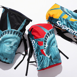 Supreme, THE NORTH FACE - Statue of Liberty Waterproof Backpack