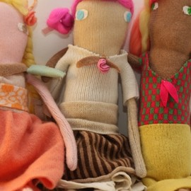Donna Wilson - Handknit doll(London Fashion Week限定)