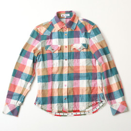 Duffer of St.George - Checkered Pattern Shirt