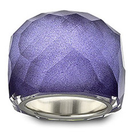 SWAROVSKI - Nirvana Flash Lavender Glitter Ring