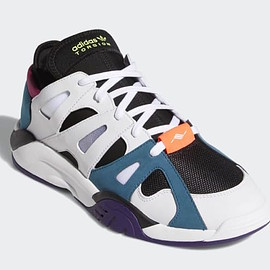 adidas - Dimension Low - Cloud White/Core Black/Real Teal
