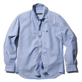 SOPHNET. - COTTON OXFORD WIRE SHIRT