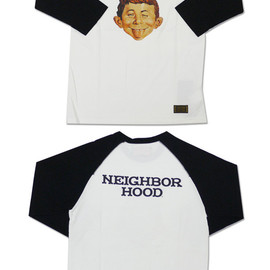 NEIGHBORHOOD - NEIGHBORHOODMAD七分袖TシャツBLACK201-000199-041-【新品】【smtb-TD】【yokohama】