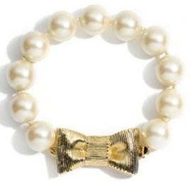 kate spade NEW YORK - 'all wrapped up' glass pearl bracelet