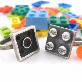 Interlocking Ring Set - Building Block Collection