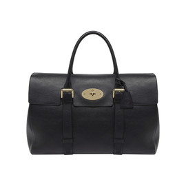 Mulberry - Oversized Bayswater Black Natural Leather