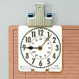 PRESENT & CORRECT - Card Clocks