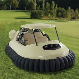 Hammacher Schlemmer - YES!!! The Golf Cart Hovercraft - Hammacher Schlemmer