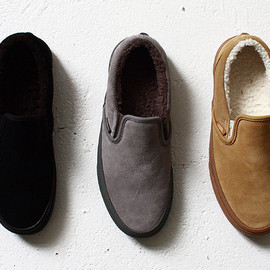SLIP ON & ERA -LINEN-