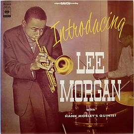 Lee Morgan With Hank Mobley's Quintet‎ - Introducing Lee Morgan (Vinyl,LP)