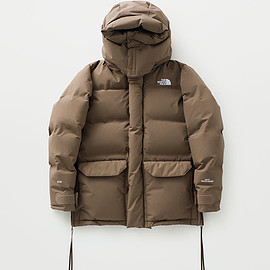 HYKE × THE NORTH FACE - WS Down Jacket Coyote Brown