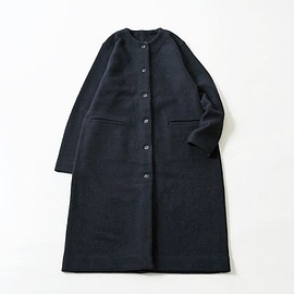 evam eva - press wool coat