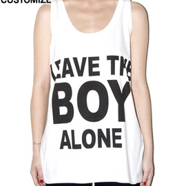 BOY LONDON - LEAVE THE BOY VEST