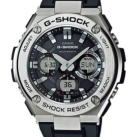 CASIO - G-SHOCK G-STEEL GST-W110-1AJF