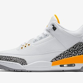 Jordan Brand - Air Jordan 3 - White/Laser Orange/Cement Grey/Black