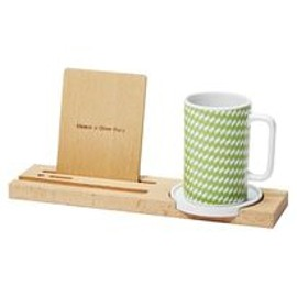 ideaco - kagome mug tray / green