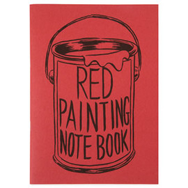 Noritake - Painting Notebook (Red)