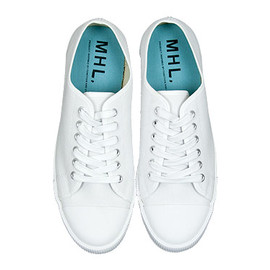 MHL. - MHL. COTTON CANVAS SHOES 030WHITE
