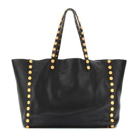 VALENTINO - GRYPHON STUDS LEATHER SHOPPER