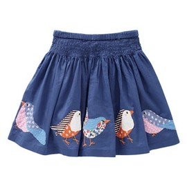 Mini Boden Appliqué Skirt (Toddler)