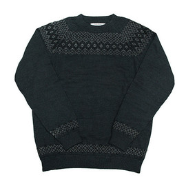 Patrik Ervell - Icelandic Sweater Faded Black