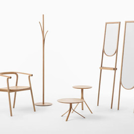 Nendo - Furniture That Looks Like Its Peeling: Splinter