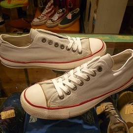 "converse - 「<used>'80 converse ALLSTAR OX grey""made in USA"" size:US10/h(29cm) 15800yen」完売"