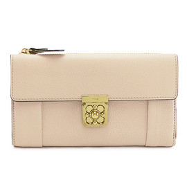 Chloe - Elsie long zipped wallet angora beige