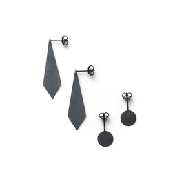 Marc Monzó - Earrings silver