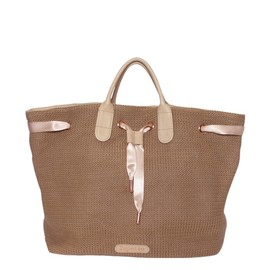 Repetto - Shopping bag Arabesque Camel cuba Knitwear