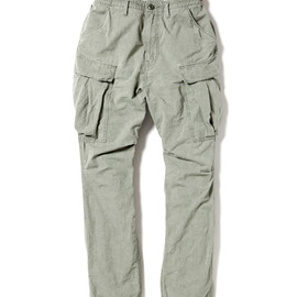 nonnative - TROOPER PANTS - C/L WEATHER CLOTH