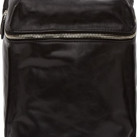 ALEXANDER WANG - Black Leather Inside-Out Backpack