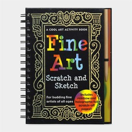 MoMA STORE - Fine Art: Scratch and Sketch (ハードカバー)