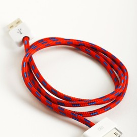 Zig Zag Collective Cable - Blue/White