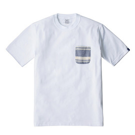LOOPWHEELER - LW Tee Stripe pocket Tee