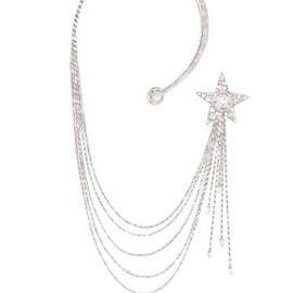 CHANEL - Chanel's Etoile Filante necklace, part of the 1932 Collection.
